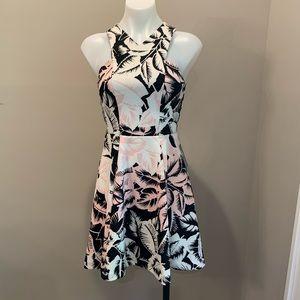 EXPRESS- Criss Criss front A-line dress